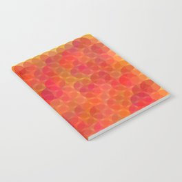 Stained Glass Sunrise Notebook