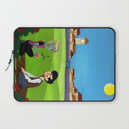 C/B The Braniac That Never Smiled Laptop Sleeve