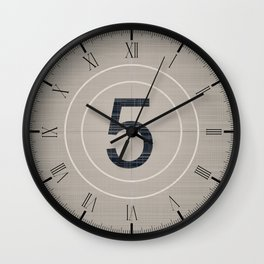 Movie Countdown Wall Clock