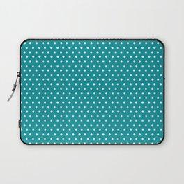 Dots & Teal Laptop Sleeve