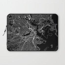 Boston Black Map Laptop Sleeve
