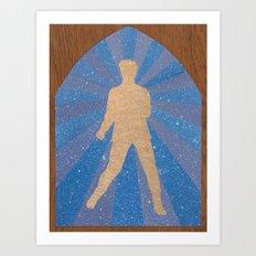St Elvis Art Print