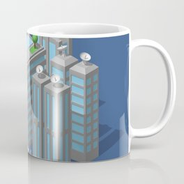 Modern city Coffee Mug
