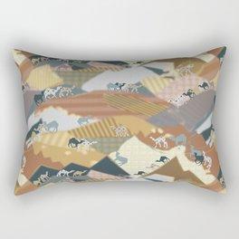 Deserts Travelers Rectangular Pillow