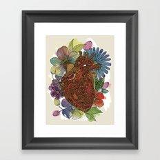 Heart Happy Framed Art Print