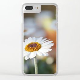 Daisys | marguerite Clear iPhone Case
