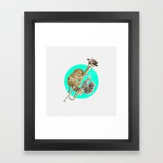 T is For… Framed Art Print