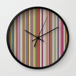 Stripes & stripes Wall Clock
