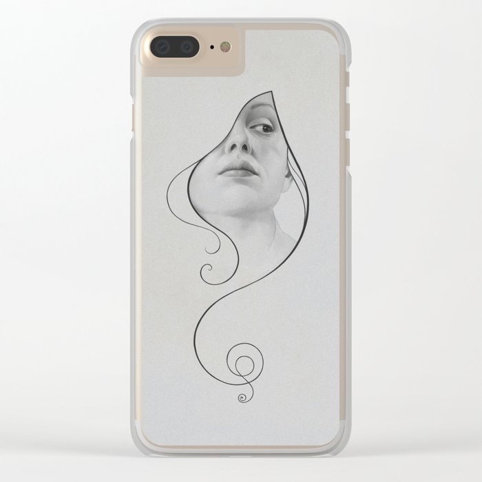 413 Clear iPhone Case