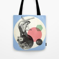 Swing Around The World Tote Bag