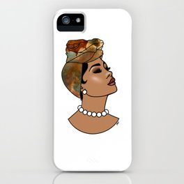 Momma's Pearls iPhone Case