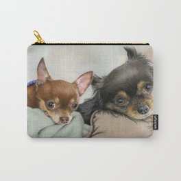 Like Two Chi's In A Pod Carry-All Pouch