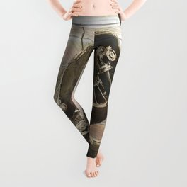 Old airplane 2 Leggings