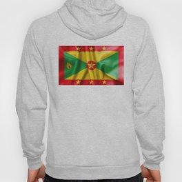 Grenada Flag Hoody