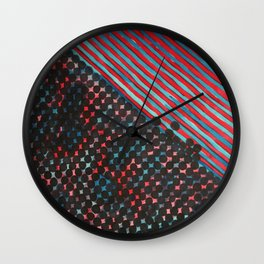 Populated Wall Clock