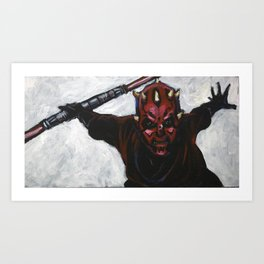 Darth Maul, Sith Apprentice Art Print