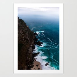 Cape Point South Africa Art Print