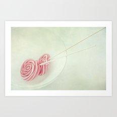 treat or treat Art Print