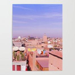 Marrakech Rooftop Poster