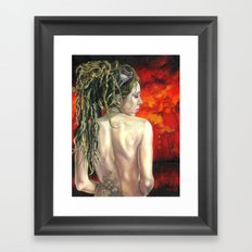 The Arsonist Framed Art Print