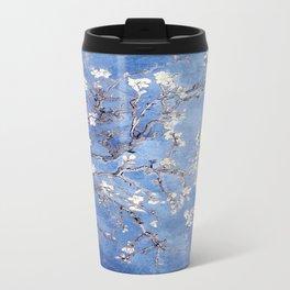 Vincent Van Gogh Almond BlossomS Blue Travel Mug