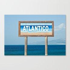 Atlantico Canvas Print