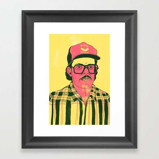 Sausage Man Framed Art Print