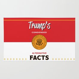 Trump's Alternative Facts Soup Rug