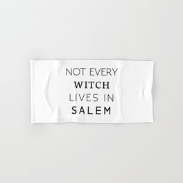 Not from Salem Hand & Bath Towel