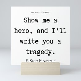 4     F. Scott Fitzgerald Quotes Series    190619 Mini Art Print