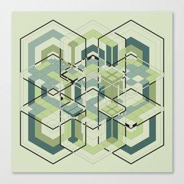 Hexagons #01 Canvas Print