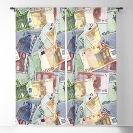 Art of the euro money Blackout Curtain