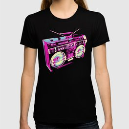 Boombox Pop Art T-shirt