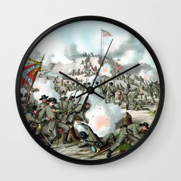 The Battle of Fort Sanders Wall Clock