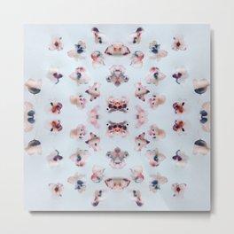 Flower Dabs Metal Print