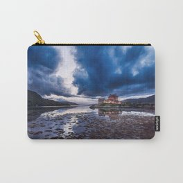 Dark Skies at Eilean Donan Castle Carry-All Pouch