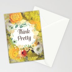 Think Pretty Stationery Cards