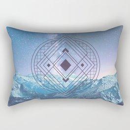 Sacred Geometry Universe 7 Rectangular Pillow
