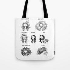 hair reality Tote Bag