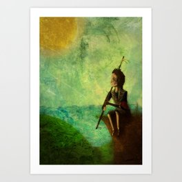 Early Morning Watch Art Print