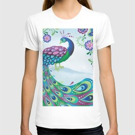 Flaunting It Peacock T-shirt