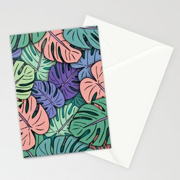 Monstera Leaves #8 Stationery Cards