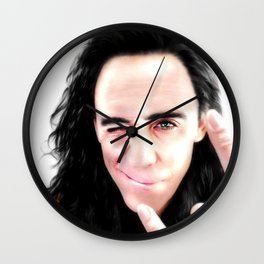 Loki - Ragnarok I Wall Clock