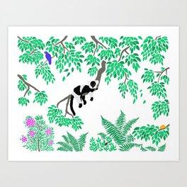 Rainforest Madagascar Art Print