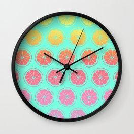 Neon Summer 2 Wall Clock