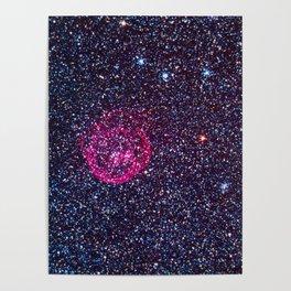 N70 Superbubble Nebula Poster