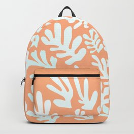 """Collage of Leaves, #12,""""Aflame"""" by Henri Matisse Backpack"""