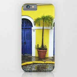 old San Juan, historic distric Puerto Rico iPhone Case