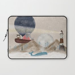 lucy and the elephant Laptop Sleeve