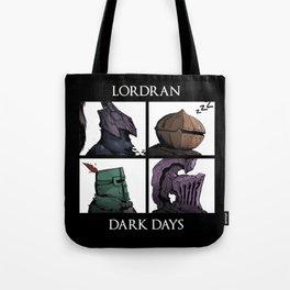 Lordran Dark Days Tote Bag